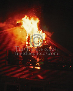 Dec.13,1986 - Working Fire Box 2626 for a condominium under construction off Florence St (Roslindale).  Ladder 16 opening up