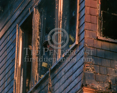 Nov.1,1986 - 2 Alarms Box 3537 for a fire on the second floor of a multi-family occupied dwelling on Wildwood St (Mattapan).