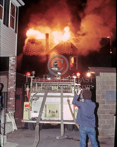 LYNN, Mass. - April 18,1986 - 2 Alarms transmitted for this vacant building off of Commercial St