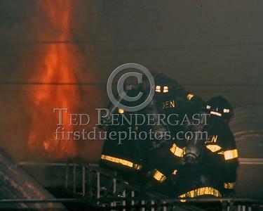 MALDEN, Mass. - August 1986 - A 2-alarm fire in Malden. Unk location.