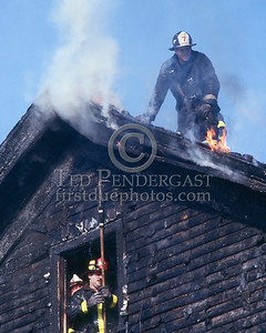SOMERVILLE, Mass. - December 1986 - 3 Alarms struck for a fire in a house under renovation on Linden Avenue.