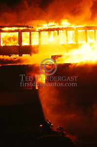 February 15, 1987 - Multiple Alarm Factory Fire - Brockton, Mass. - London Clothing, Main Street