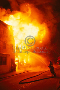 Feb. 20, 1987 - Boston, MA - 6 Alarms, West 6th St and D St. - First Water