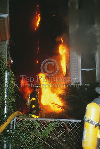 July 10, 1987 - Boston, MA - 2 Alarms for a cellar fire in a dwelling on Harvard Av