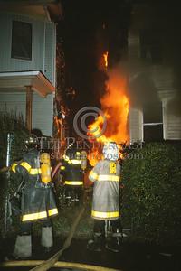 July 10, 1987 - Boston, MA - 2 Alarms for a cellar fire in a dwelling on Harvard Av