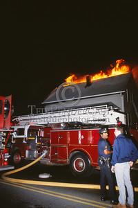 June 12, 1987 - Salem, Mass. - Working Fire in a dwelling on Bridge St