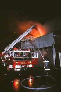 June 18, 1987 - 2 Alarms - Salem, MA - Fire in a vacant movie theatre on Essex St.
