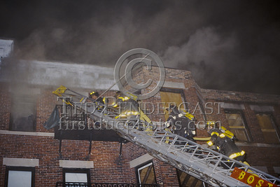 May 11, 1987 - Boston, Mass. - 2 Alarms Box 514 for an Apartment Building on Linden Street
