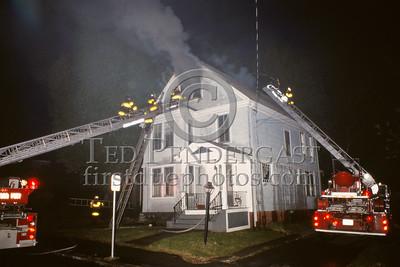 May 16, 1987 - Arlington, Mass. - 2 alarms on Walnut St near Massachusetts Av in the early morning hours.