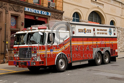 FDNY Rescue Co. 3 - Bronx - 2008 FDNY NJ Metro Fire Photographer's Bus Trip