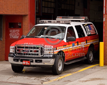 FDNY Battalion 18 - Bronx - Ford Excursion - 2008 FDNY NJ Metro Fire Photographer's Bus Trip