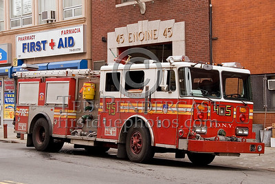 FDNY Engine Co.45 - Spare Seagrave Pumper - 2008 NJMFPA Bus Trip