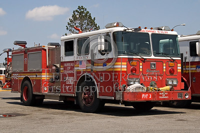 FDNY - Bureau Of Training Engine - Fire Academy At Randall's Island - 2008 FDNY NJ Metro Fire Photographer's Bus Trip