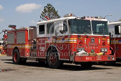 FDNY - Bureau Of Training Engine - Fire Academy At Randall's Island - 2008 FDNY NJ Metro Fire Photographer's Bus Trip