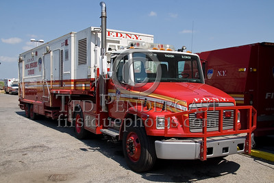 FDNY - Mass Decon Unit - Special Operations Command - Fire Academy At Randall's Island - 2008 FDNY NJ Metro Fire Photographer's Bus Trip