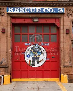 FDNY - Quarters Of Rescue Co.3 - 2008 FDNY NJ Metro Fire Photographer's Bus Trip