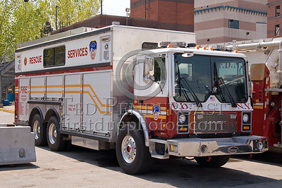 FDNY Rescue Services Support - Fire Academy At Randall's Island - 2008 FDNY NJ Metro Fire Photographer's Bus Trip