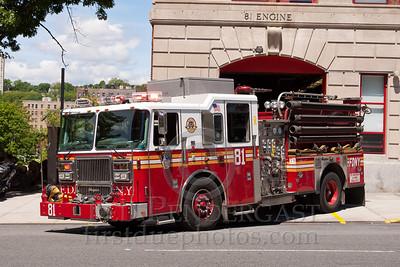 FDNY E81 Bronx - Bailey Ave Bombers