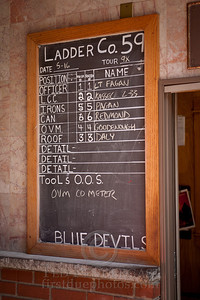 FDNY Ladder Co59 Station Roster Board
