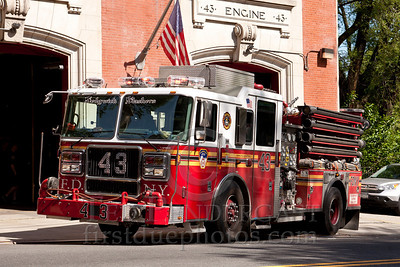 FDNY E43 Bronx Sedgwick Slashers
