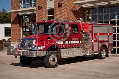 Belmont MA HQ Apparatus - Engine 3