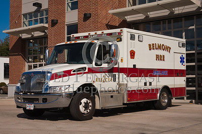 Belmont MA HQ Apparatus - Rescue 2