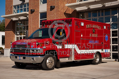 Belmont MA HQ Apparatus - Rescue 1