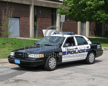 Cruiser 386 - Belmont Massachusetts Police Dept