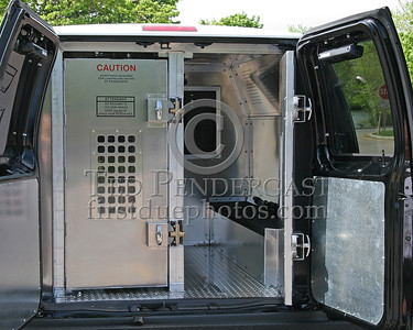 New Prisoner Wagon 379 - Belmont Massachusetts Police Dept