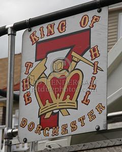 Boston MA Ladder Co 7 - Dorchester; King Of The Hill