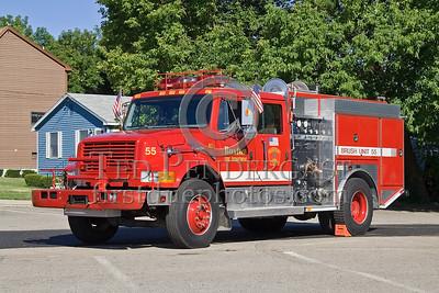 Boston, MA - Engine Co 55's - Brush Fire Unit - IFBA National Convention (NEFCON '07) - Boston to Providence Bus Trip