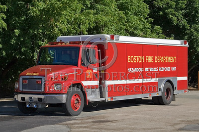 Boston, MA - Hazardous Materials Response Unit - IFBA National Convention (NEFCON '07) - Boston to Providence Bus Trip