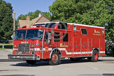 Boston, MA - Rescue Co 1 (Spare) - IFBA National Convention (NEFCON '07) - Boston to Providence Bus Trip
