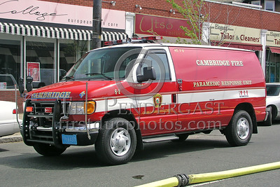 Cambridge,MA Paramedic Squad 2