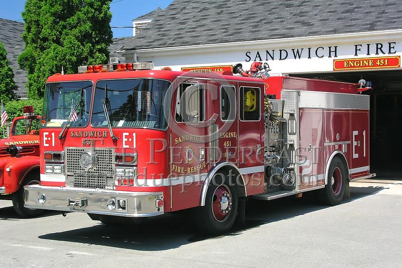 Sandwich,MA Engine Co.451