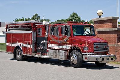 Ludlow, Mass. Engine - New England Association of Fire Chiefs Expo 2007 - Big E Exposition Center - West Springfield, Mass.