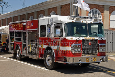 Exeter NH Engine Co 3 - New England Association of Fire Chiefs Expo 2007 - Big E Exposition Center - West Springfield, Mass.