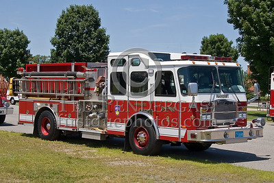 Amherst, Mass. Engine Co. 2 - New England Association of Fire Chiefs Expo 2007 - Big E Exposition Center - West Springfield, Mass.