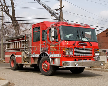 Detroit Engine Co. 27 - 2000 American LaFrance Metropolitan 1250gom / 500gal - Shop# 246