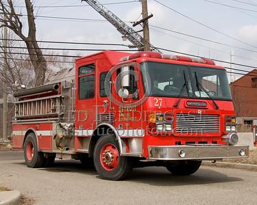 Detroit Engine Co. 27 - 2000 American LaFrance Metropolitan 1250gom / 500gal - Shop# 246