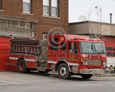 Detroit Engine Co. 42 - 2000 American LaFrance Metropolitan 1250gpm / 500gal - Shop# 256