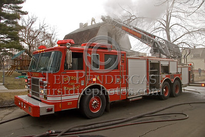 Detroit Ladder Co. 1 - 2003 Pierce 100' Rearmount Ladder - Shop# 377