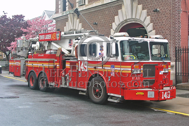 "FDNY Tower Ladder 149 ""Castle On The Hill"" (Brooklyn)"