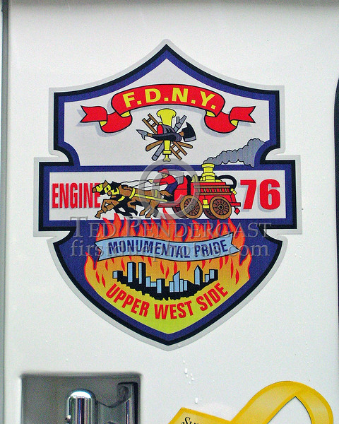 "FDNY Engine Co.76 - Manhattan - Upper West Side - ""Monumental Pride"""