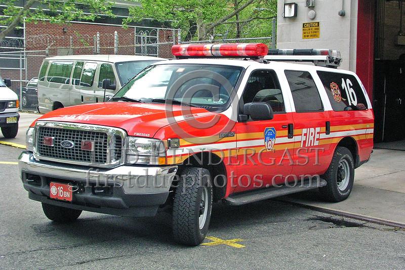 FDNY Battalion 16 - Harlem