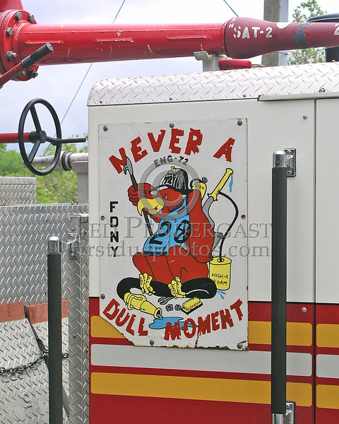 "FDNY Satellite Unit #2 - Throggs Neck - ""Never A Dull Moment"""