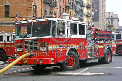 "FDNY Engine Co.54 ""Never Missed A Performance"""