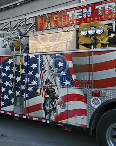 FDNY Ladder Co.10 - 124 Liberty Street, Manhattan, NYC