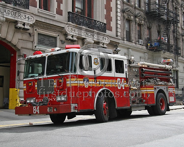 FDNY Engine Co.84 - 513 West 161st., Harlem (Manhattan) New York City