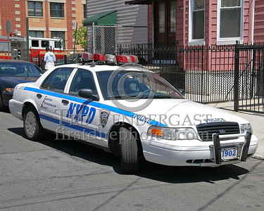 NYPD Radio Car - 42nd Precinct - Bristow St., The Bronx, NYC
